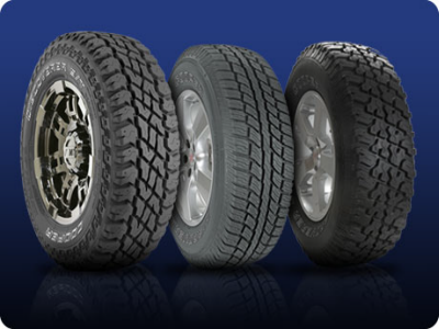 . . . . . fantastic range of tyres available!